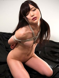 Facefuck whore Aoi Shino loves to have her mouth and throat abused with big hard cocks.
